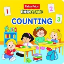 Fisher Price Little People Counting, Board book Book