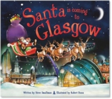 Santa is Coming to Glasgow, Hardback Book