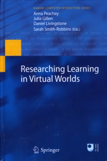 Researching Learning in Virtual Worlds, Hardback Book