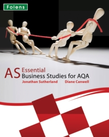 Essential Business Studies A Level: AS Student Book for AQA, Paperback Book