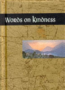 Words on Kindness, Hardback Book