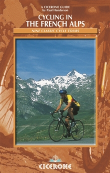 Cycling in the French Alps, Paperback Book