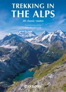 Trekking in the Alps, Paperback Book