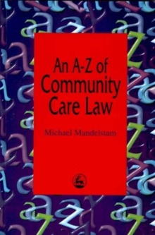 An A-Z of Community Care Law, Paperback Book