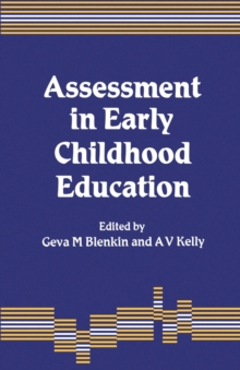Assessment in Early Childhood Education, Paperback Book