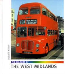 The Colours of the West Midlands, Hardback Book