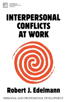 Interpersonal Conflicts at Work, Paperback / softback Book