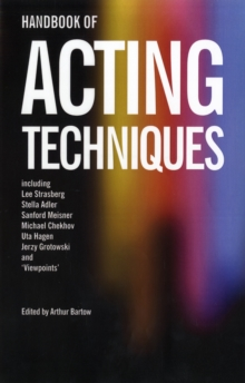 Handbook of Acting Techniques, Paperback Book