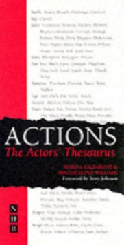 Actions : The Actor's Thesaurus, Paperback Book