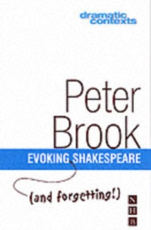 Evoking and Forgetting Shakespeare, Paperback Book