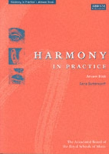 Harmony in Practice: Answer Book, Sheet music Book