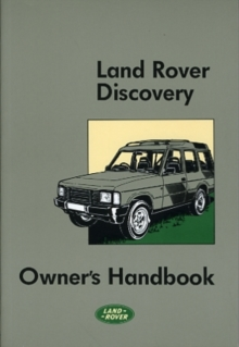 Land Rover Discovery Owner's Handbook, Paperback / softback Book