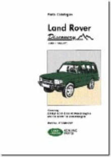 Land Rover Discovery Parts Catalogue 1989-1998 MY, Paperback Book