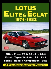 Lotus Elite & Eclat 1974-1982 Road Test Portfolio, Paperback / softback Book