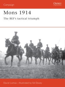 Mons, 1914, Paperback Book