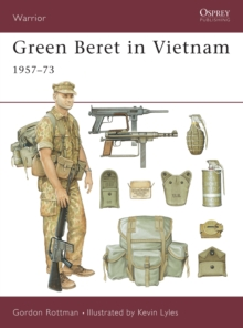 Green Beret in Vietnam, Paperback Book