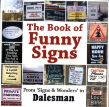 The Book of Funny Signs, Paperback Book