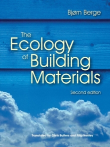 The Ecology of Building Materials, Paperback / softback Book