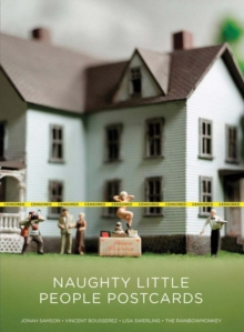 Naughty Little People Postcards, Paperback Book