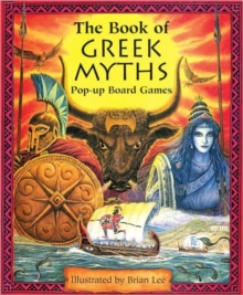 The Book of Greek Myths Pop-up Board Games, Hardback Book