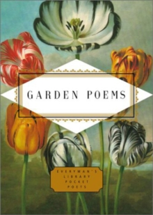 Garden Poems, Hardback Book