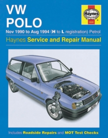 Volkswagen Polo (90-94) Service and Repair Manual, Hardback Book
