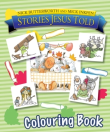 Stories Jesus Told Colouring Book, Paperback Book