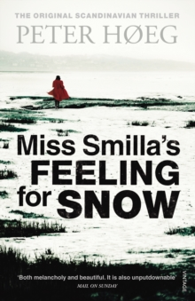 Miss Smilla's Feeling For Snow, Paperback Book