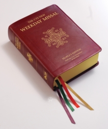 Weekday Missal, Leather / fine binding Book