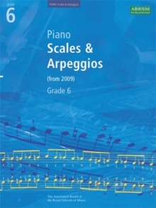 Piano Scales & Arpeggios, Grade 6, Sheet music Book