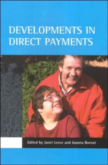 Developments in direct payments, Paperback / softback Book
