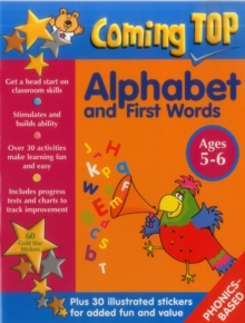 Coming Top: Alphabet and First Words - Ages 5-6, Paperback / softback Book