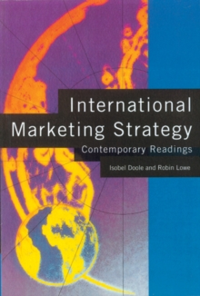 International Marketing Strategy : Contemporary Readings, Paperback Book