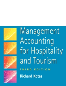 Management Accounting for Hospitality and Tourism, Paperback Book