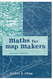 Maths for Map Makers, Paperback Book