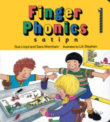 Finger Phonics book 1 : in Precursive Letters (BE), Board book Book