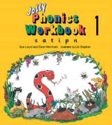 Jolly Phonics Workbook 1 : in Precursive Letters (British English edition), Paperback / softback Book