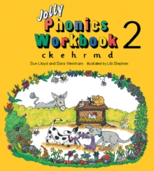 Jolly Phonics Workbook 2 : in Precursive Letters (British English edition), Paperback / softback Book