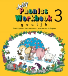 Jolly Phonics Workbook 3 : in Precursive Letters (BE), Paperback Book
