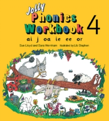Jolly Phonics Workbook 4 : in Precursive Letters (British English edition), Paperback / softback Book
