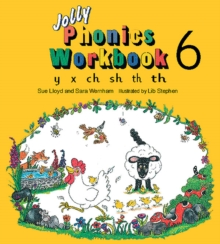 Jolly Phonics Workbook 6 : in Precursive Letters (BE), Paperback Book