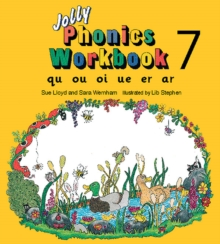 Jolly Phonics Workbook 7 : in Precursive Letters (BE), Paperback Book