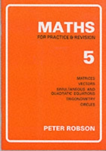 Maths for Practice and Revision : Bk. 5, Paperback / softback Book