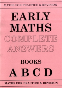 Maths for Practice and Revision : Early Maths Answers ABCD, Paperback Book