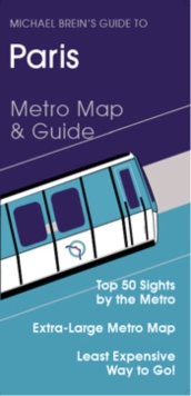Guide to Paris : Metro Map and Guide, Sheet map, folded Book