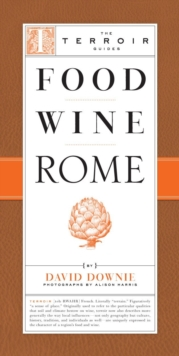 Food Wine Rome, Paperback / softback Book