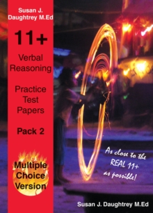 Verbal Reasoning Multiple Choice Test Papers : Pack 2