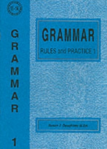 Grammar Rules and Practice : No. 1, Paperback Book