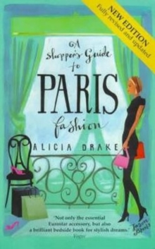 A Shopper's Guide to Paris Fashion, Paperback Book