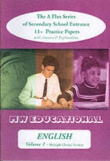 English (Standard Format) : The A Plus Series of Secondary School Entrance 11+ Practice Papers with Answers, Paperback Book